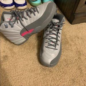 Gray/Pink  Jordan's